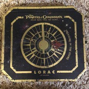 Pirates of the Caribbean Lorac palette